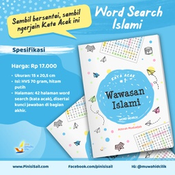 Wawasan Islami (Word Search) Kloter 3