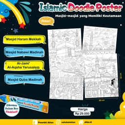 Islamic Doodle Poster